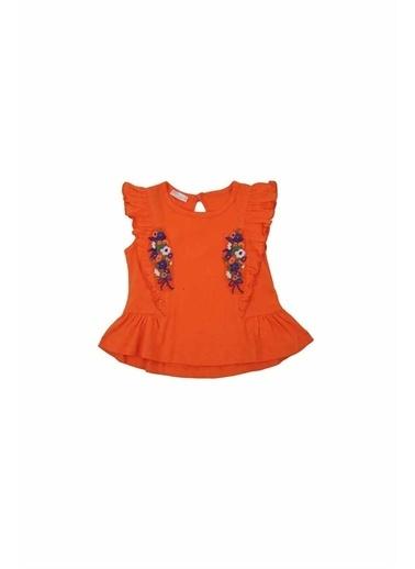 Zeyland Zeyland T-Shirt Turuncu Oranj
